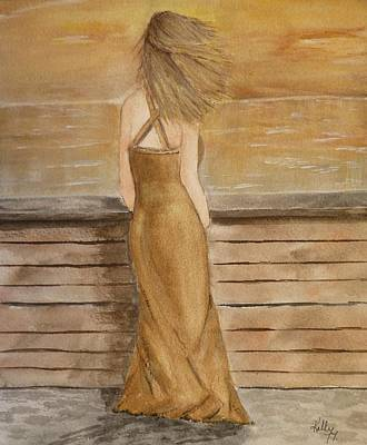 Painting - Golden Breeze by Kelly Mills