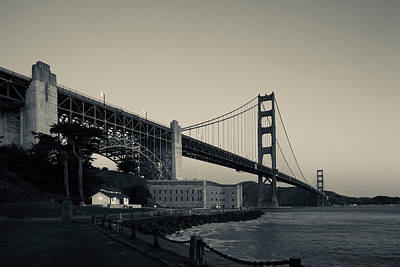 Golden Gate Bridge From Fort Point Art Print by Panoramic Images