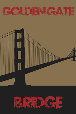 Golden Gate Bridge Art Print by Joe Hamilton