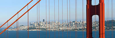 Scenic River Photograph - Golden Gate Bridge by Melanie Viola