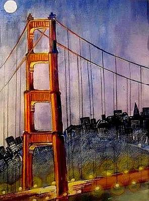 Painting - Golden Gate by Esther Woods