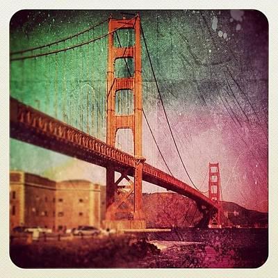 Famous Wall Art - Photograph - Golden Gate by Jill Battaglia