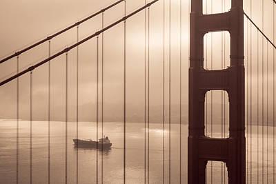 Photograph - Golden Gate by Scott Rackers