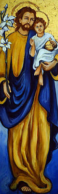 Golden Joseph Original by Valerie Vescovi