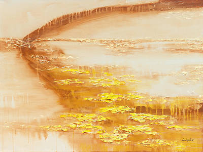 Painting - Golden Pond by Jerome Lawrence