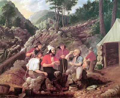 Goldminers Art Print