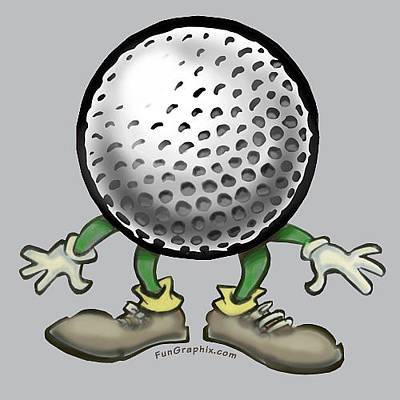 Golf Digital Art - Golf by Kevin Middleton
