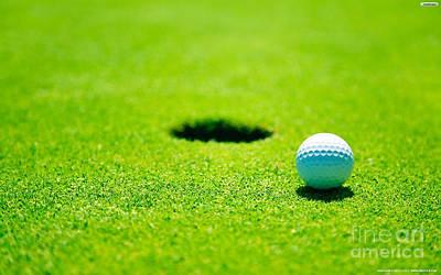 Mixed Media - Golf by Marvin Blaine