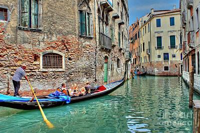 Photograph - Gondola Giro by Ines Bolasini