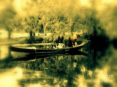 Photograph - Gondola Hauntings In City Park New Orleans Louisiana by Michael Hoard