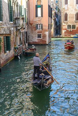 Gondola Venice Italy Art Print