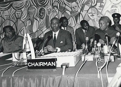 �good Neighbors� Conference, Dares Salaam, Tanzania Art Print by Retro Images Archive