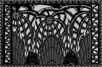 Baptism Mixed Media - Bnw Magic Patterns Signature Art By Navinjoshi  This Are Has Been Created In An E by Navin Joshi