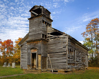 Photograph - Gospel Center Church by Jack R Perry