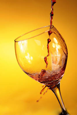 Wine Pour Photograph - Got Wine by Michael Ledray
