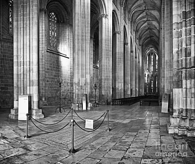 Altar Photograph - Gothic Church by Jose Elias - Sofia Pereira