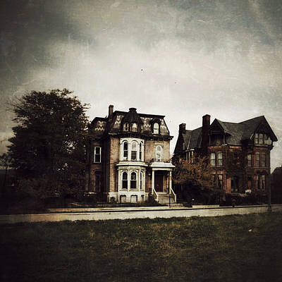 Historic Home Digital Art - Gothic Victorians by Natasha Marco