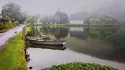 Gougane Barra Church Photograph - Gougane Barra, Ireland by Ken Welsh