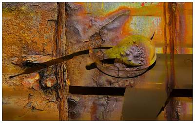 Digital Art - Gourds by Bob Pardue