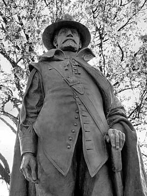 Photograph - Governor William Bradford by Janice Drew