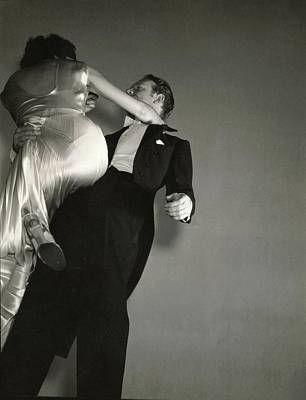 Photograph - Grace And Paul Hartman Dancing by Edward Steichen