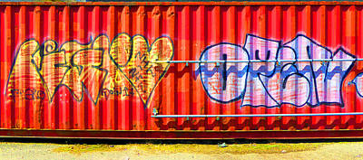 Photograph - Graffiti 11 by Laurie Tsemak