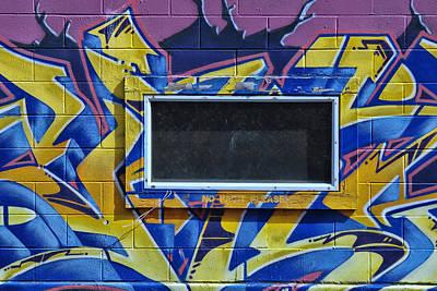 Photograph - Grafitti Art 2 by Allen Beatty