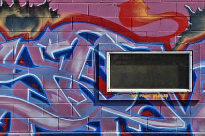Photograph - Grafitti Art 3 by Allen Beatty