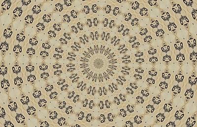 Kaleidoscope Photograph - Graffiti - Galaxee Kaleidoscope by Graffiti Girl
