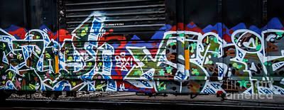 Photograph - Graffiti by Ronald Grogan