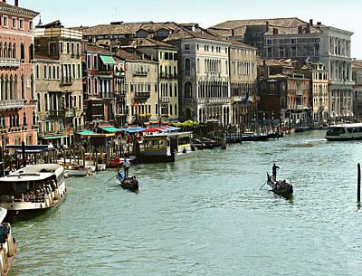Photograph - Grand Canal by Ellen Henneke