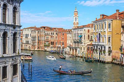 Photograph - Grand Canal Venice by Susan Leonard