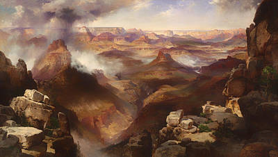 Plateau Painting - Grand Canyon Of The Colorado River by Mountain Dreams