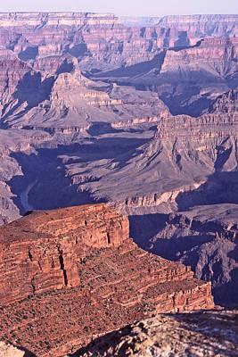 Geology Photograph - Grand Canyon Sunrise by Liz Leyden