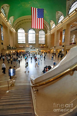 Grand Central Station New York City Art Print by Amy Cicconi