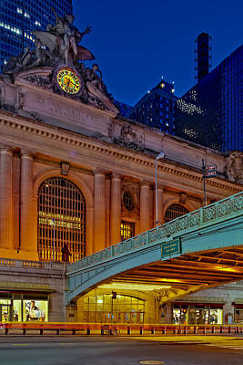 Pershing Photograph - Grand Central Terminal Gct Nyc by Susan Candelario