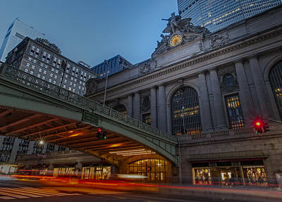 Photograph - Grand Central Terminal  by Susan Candelario
