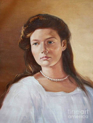 Grand Duchess Tatiana Nikolaevna Of Russia Original