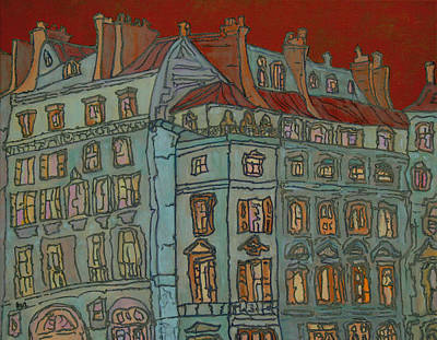Painting - Grand Hotel by Oscar Penalber