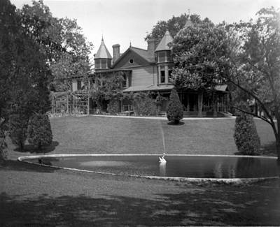 Photograph - Grand Old House by William Haggart