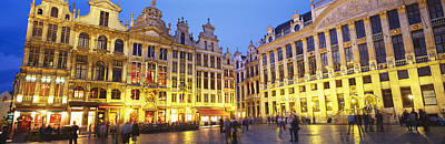 Grand Place, Brussels, Belgium Art Print by Panoramic Images