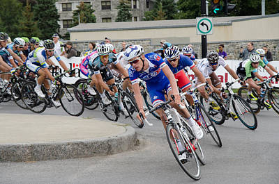 Photograph - Grand Prix Cycliste De Montreal - 2013 by Rob Huntley