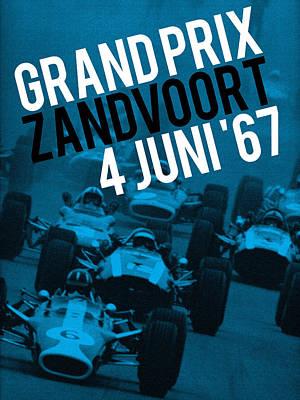 Digital Art - Grand Prix by Gary Grayson