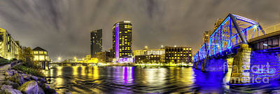 Michigan Photograph - Grand Rapids Panorama by Twenty Two North Photography