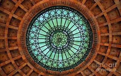 Apartments Photograph - Grand Rotunda Pennsylvanian Pittsburgh by Amy Cicconi