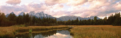 Grand Teton National Park Wy Usa Print by Panoramic Images