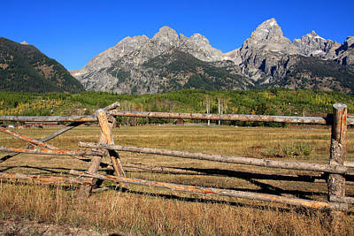 Photograph - Grand Tetons National Park by Aidan Moran