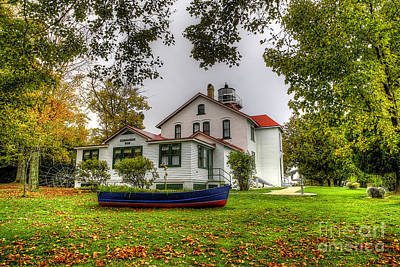 Grand Traverse Lighthouse Print by Twenty Two North Photography