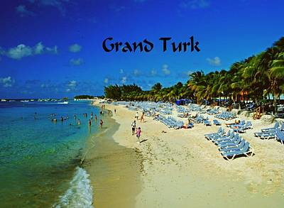 Photograph - Grand Turk by Gary Wonning