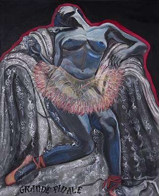 Finale Painting - Grande Finale by Darlene Graeser